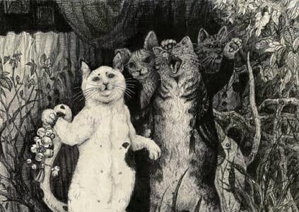 北川麻衣子「猫の客人」