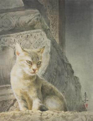 岡本東子「砂の砦 - Banteay Samré」