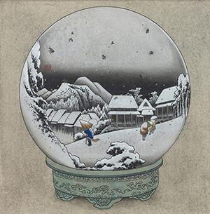 鈴木 博雄「蒲原 夜之雪球」