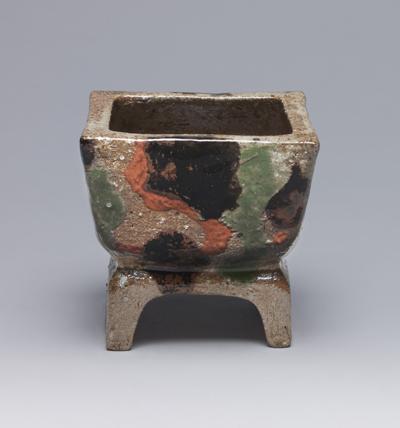 河井寛次郎「三色香炉」