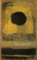香月 泰男「黒い太陽」(山口県立美術館蔵)