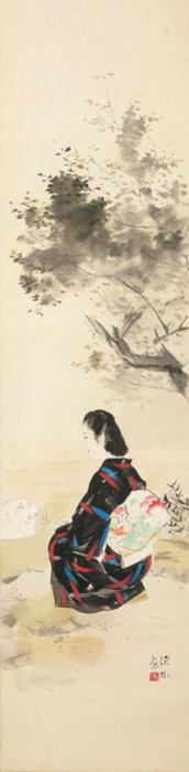 "Ito Shinsui ""Waterside in Summer"""