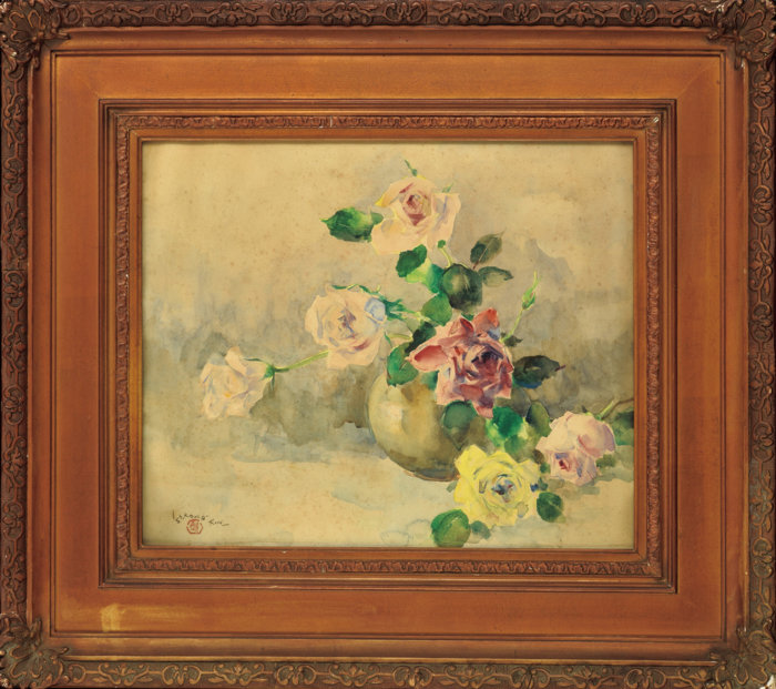 """Ishikawa Kin'ichiro """"Roses"""""""
