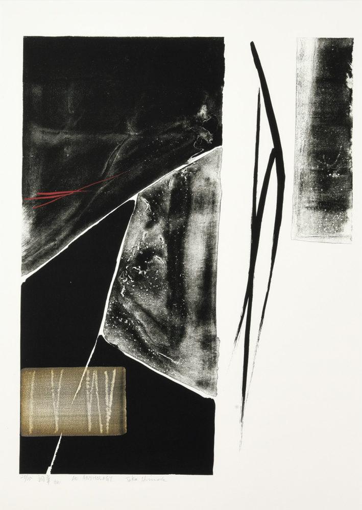 「AN_ANTHOLOGY(詞華)」| リトグラフに手彩色|ed.35    価格 ¥450,000(税込)