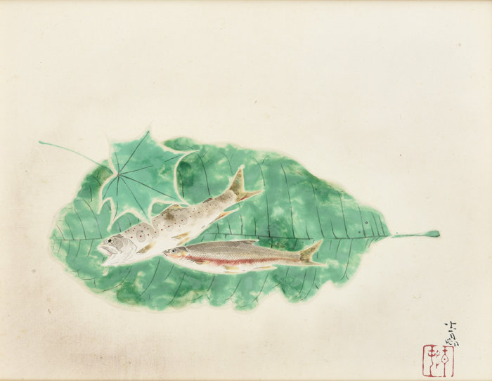 "Maeda Seison ""Fishes"""