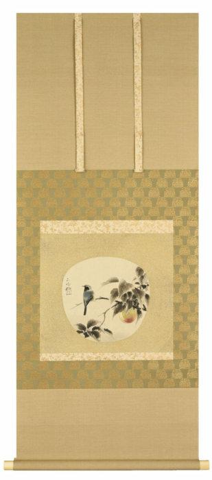 "Sakakibara Shiho ""Peach Blossom and Bird"""