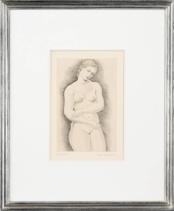 "Hasegawa Kiyoshi ""Nude"""