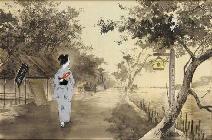 """Ito Seiu """"Sumida River"""""""