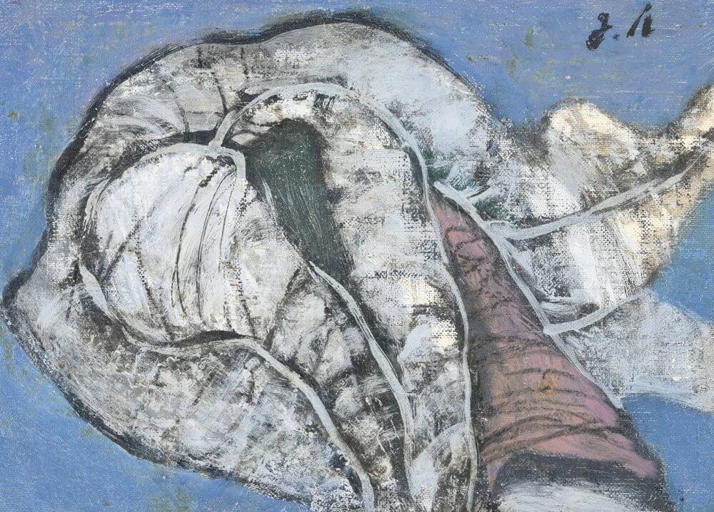 野見山 暁治「『独りボッチの象』より」 価格450,000 円(税込)