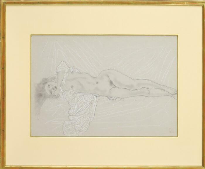 加山 又造「裸婦素描」