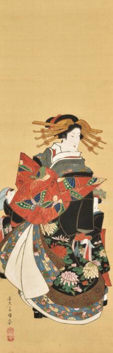 """Utagawa Kunimune """"Beauty"""""""