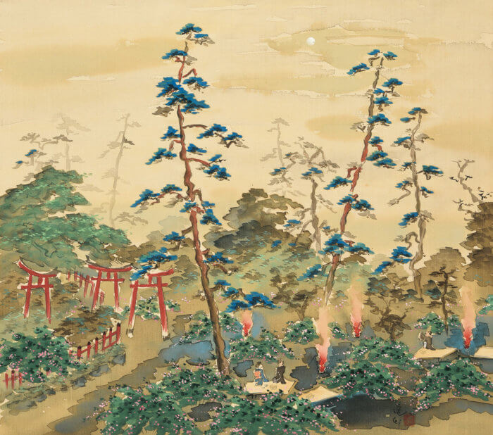 "Ikeda Yoson ""Makuzugahara"""