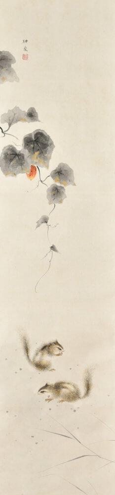 徳岡 神泉「秋趣」 価格450,000 円(税込)