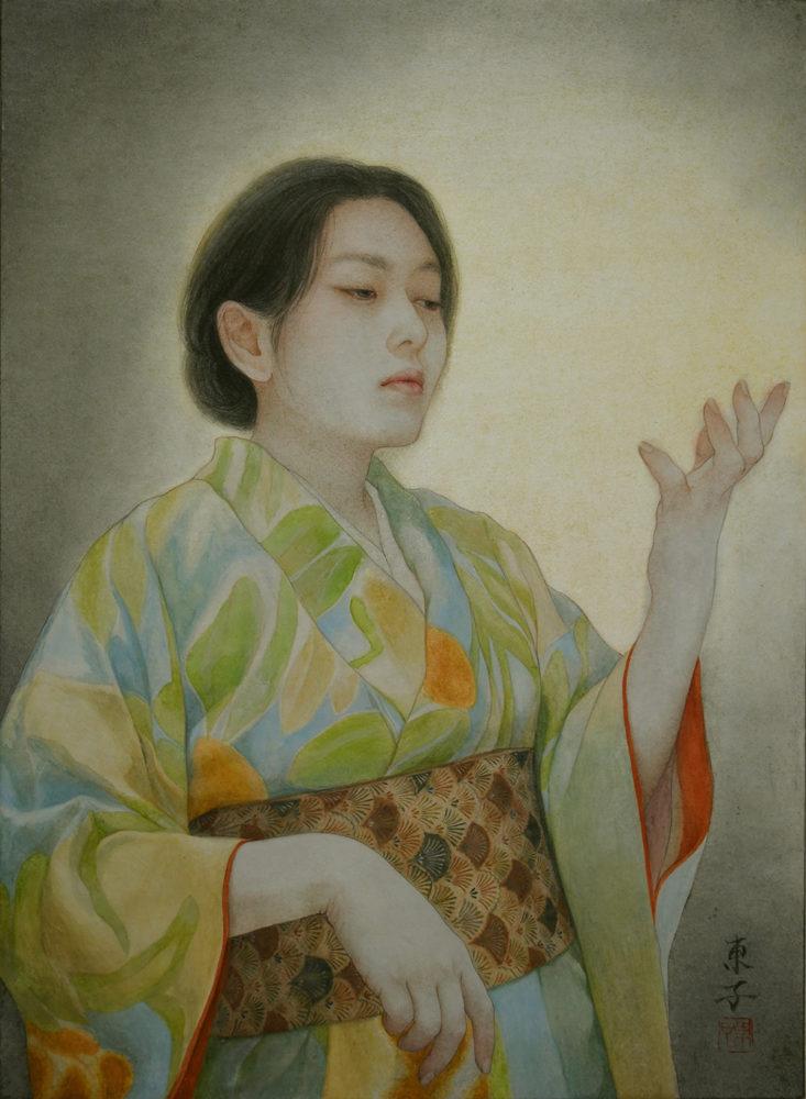 岡本東子「渇いた手」