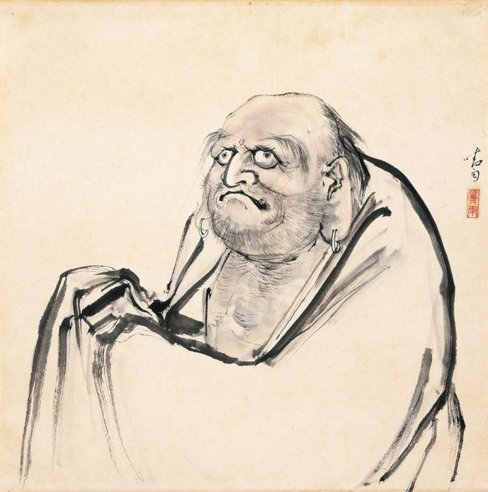 "Ito Seiu ""Bodhidharma"""