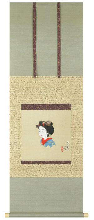 土田 麦僊「舞妓」