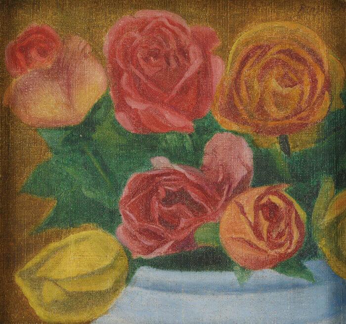 """Hasegawa Rinjiro """"Roses"""""""