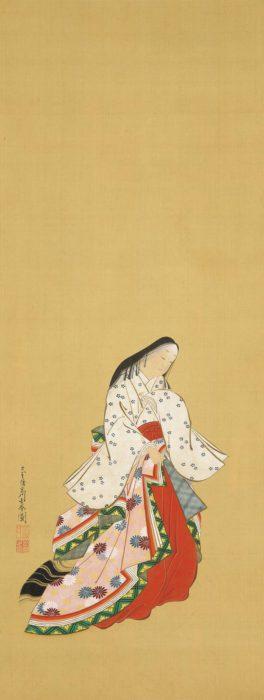 """Miyagawa Choshun """"Ono no Komachi"""""""