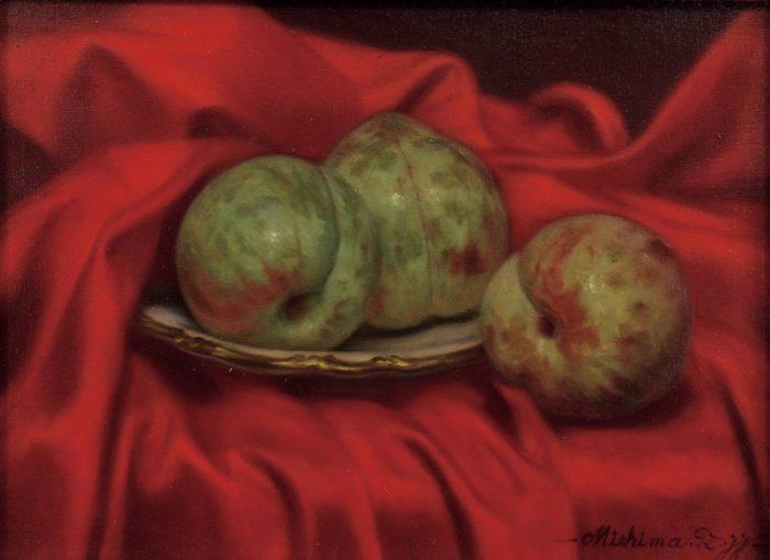 "Mishima Tetsuya ""Soldums on Red cloth"""
