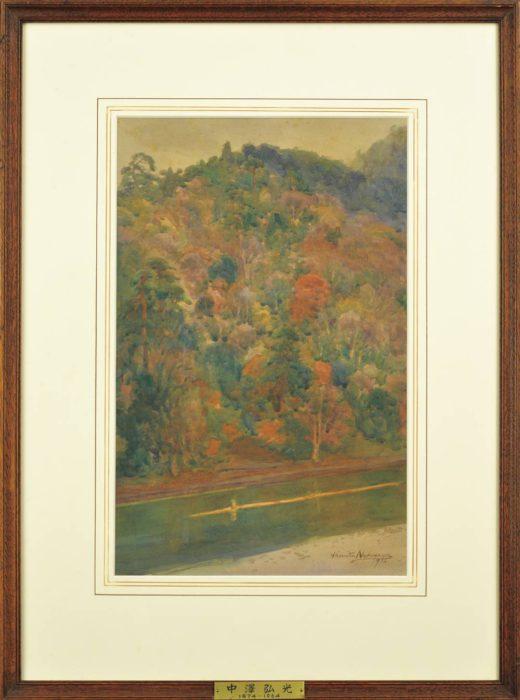 """Nakazawa Hiromitsu """"Landscape of Arashiyama"""""""