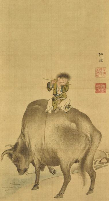 円山 応挙「牧童」