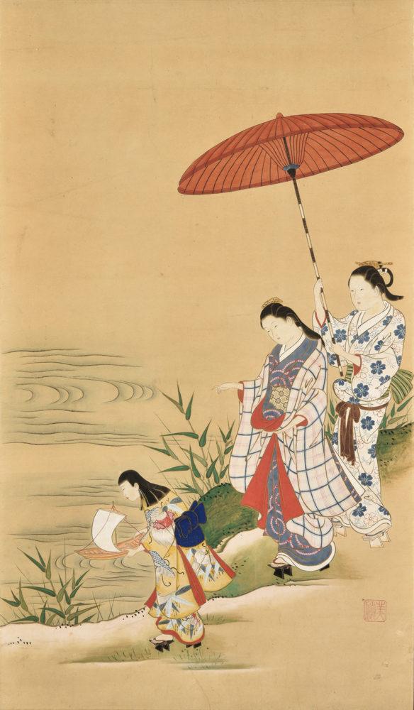美勝「三美人図」 価格 ¥350,000(税込)