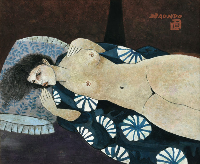 "Nakamura Naondo ""After Bathing"""
