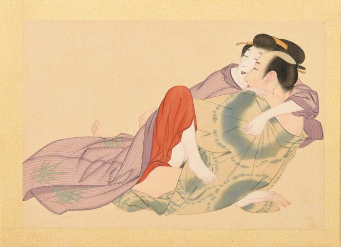 "Ueshima Hozan ""Shunga"""