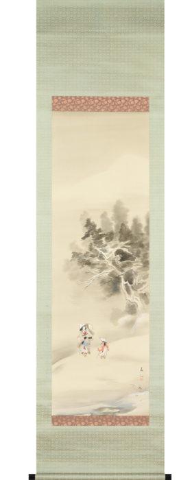 名取 春仙「雪之常磐」