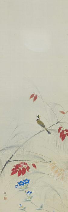 徳岡 神泉「深秋図」