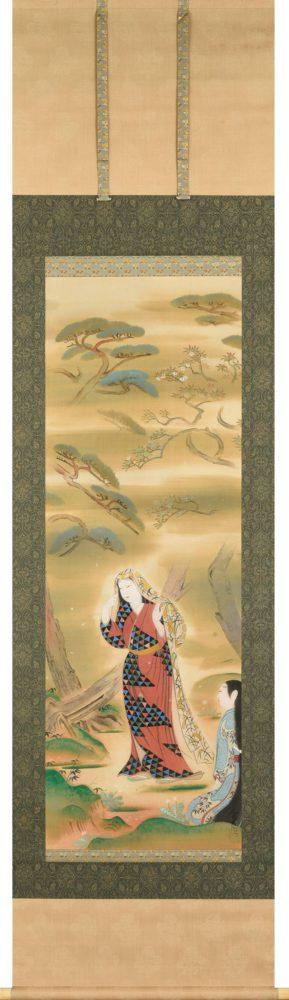 荒井 寛方「松下美人図」 価格 300,000円