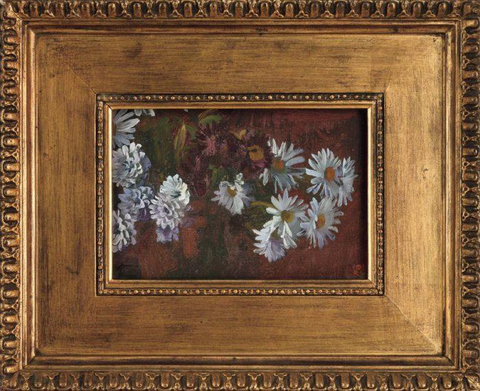 山本 鼎「菊の花」