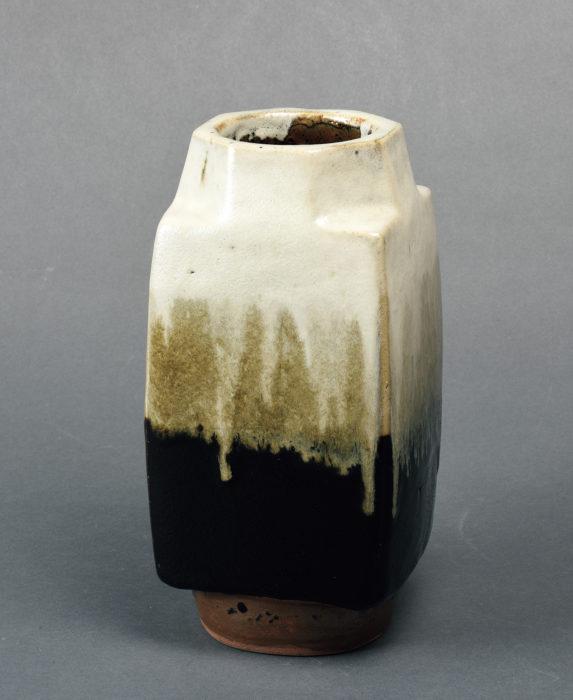 浜田 庄司「掛合釉花瓶」