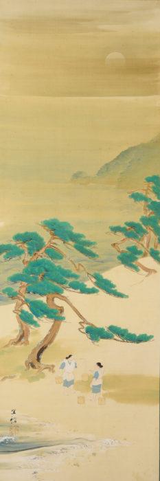 "Morimura Gito ""Rising Sun and Noh Play"