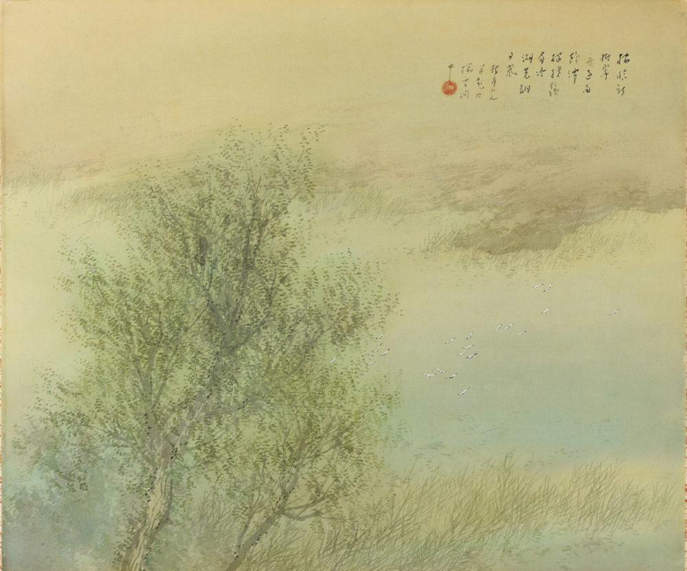 松林 桂月「新緑」 価格 200,000円(税込)