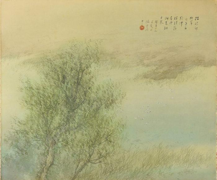 松林 桂月「新緑」
