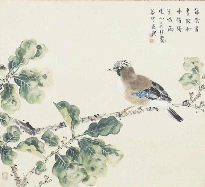 "Komuro Suiun ""Shade of Trees"""