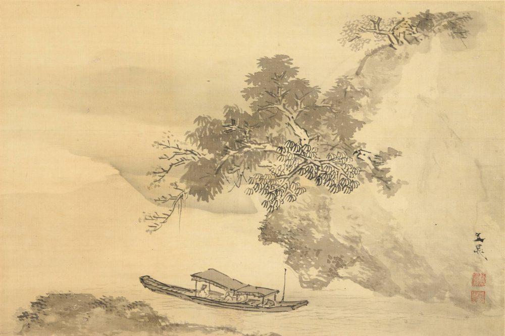 谷 文晁「赤壁舟遊図」  価格 ¥150,000(税込)