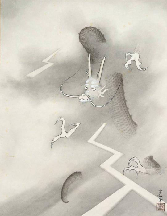 中村 宗弘「竜虎図」