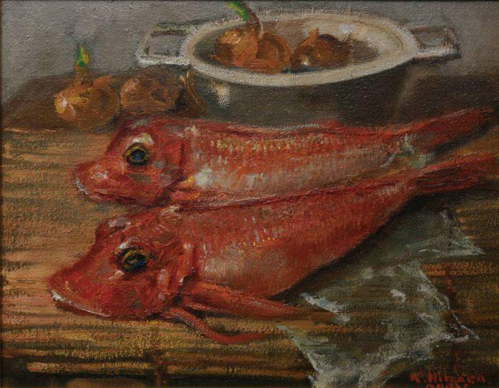 "Hiraga Kamesuke ""Fish"""