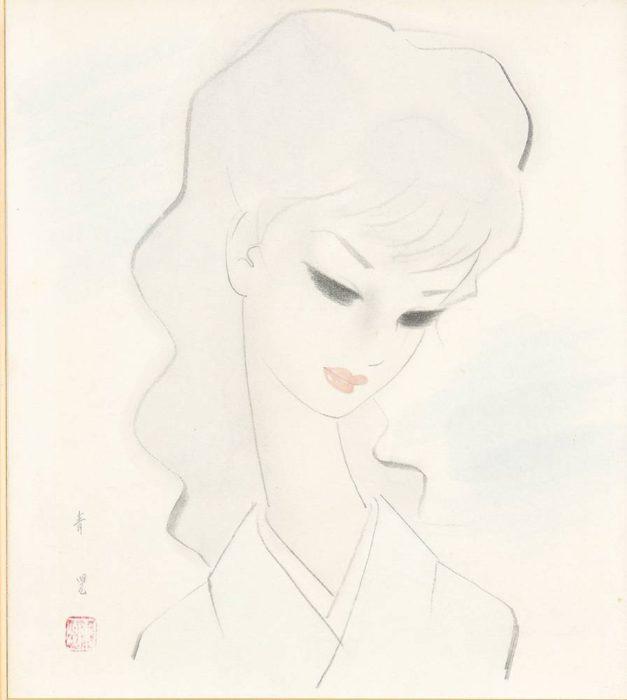 """Togo Seiji """"Portrait of Lady"""""""