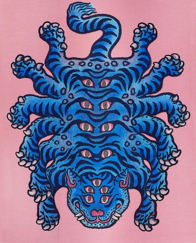 鈴木博雄「MONSTER」F100(162.0×130.3cm)