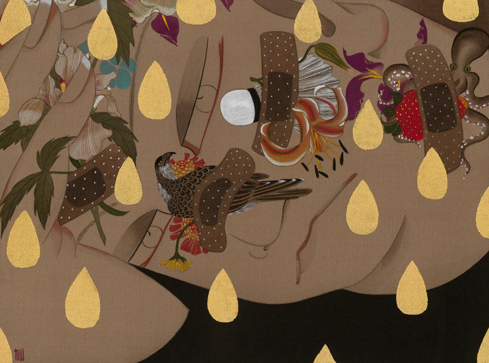 狄青(ディーチン) Di Qing「明」25.0×34.0cm