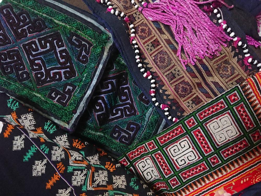 ベトナム北方山岳地帯の民族衣装