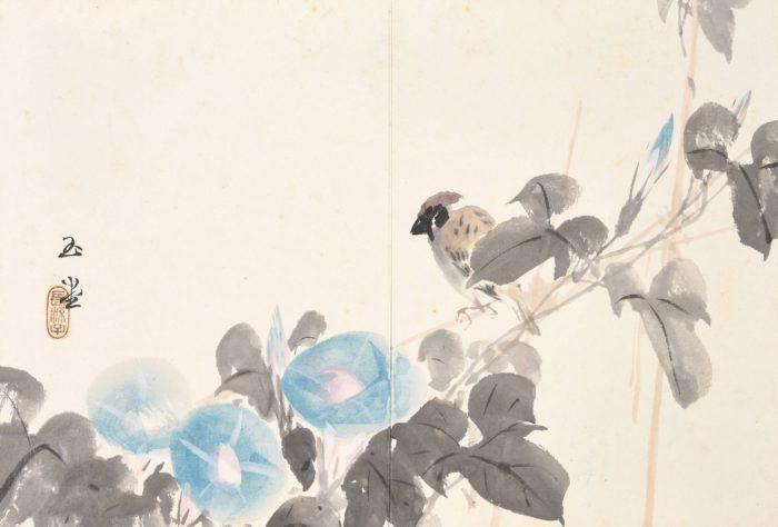 """Hashimoto KansetsuMatsubayashi Keigetsu """"Album of Paintings"""""""
