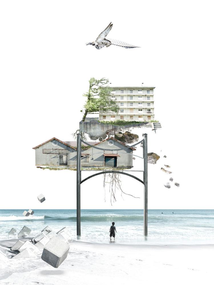 クスミエリカ「カタルシスの浜 静止する時間」(参考画像)