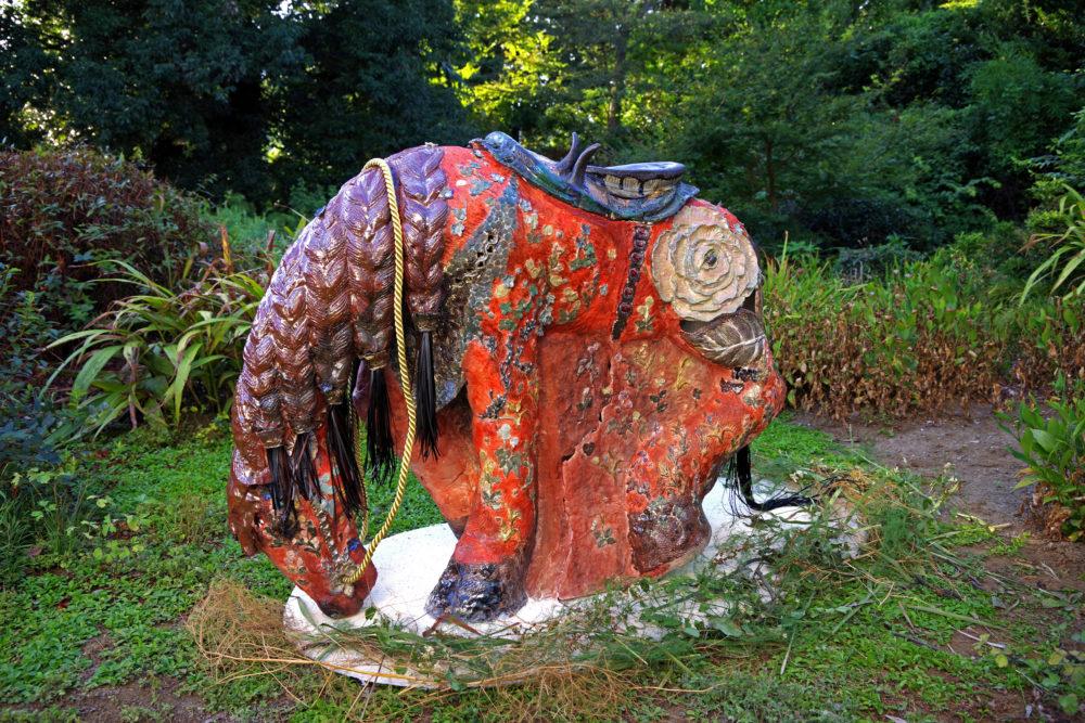 村上仁美「大地と結ばれた火の馬」