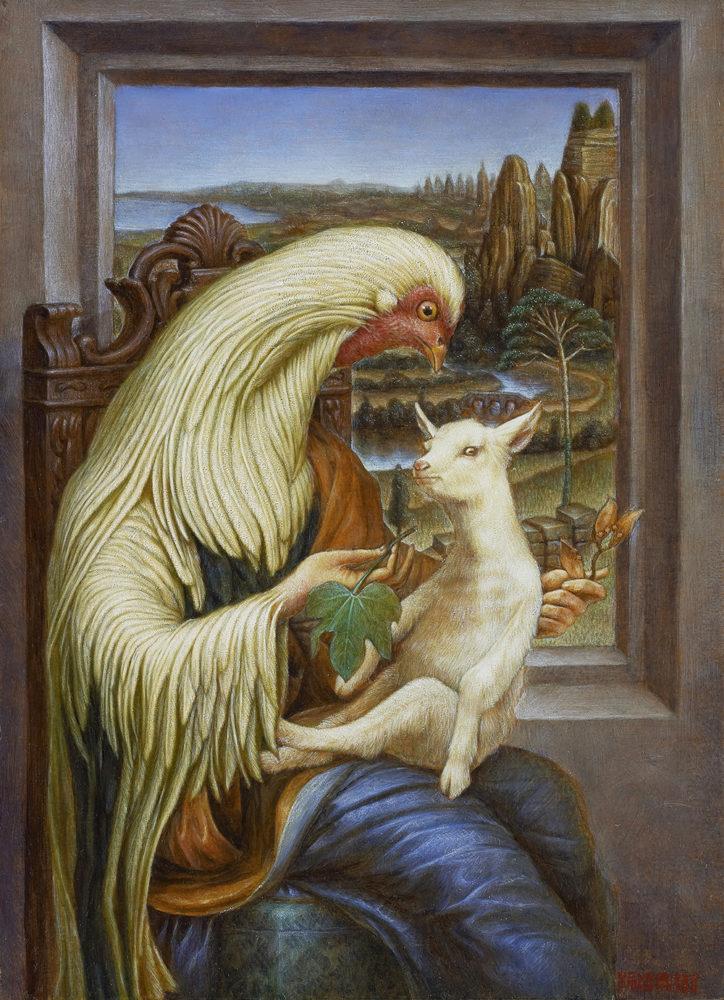 柿沼宏樹「アオギリの山羊」(参考作品)