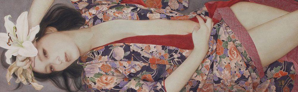 岡本東子「長夜に咲く」