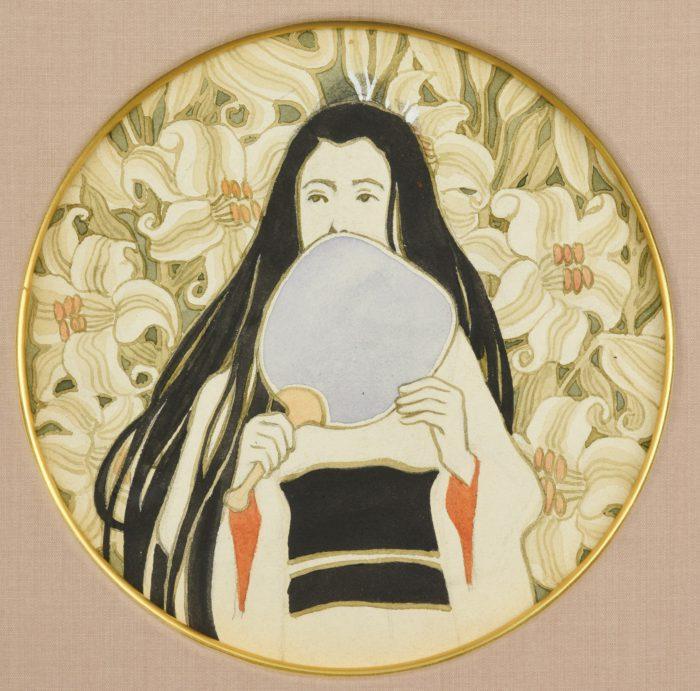"""Asai Chu """"Lily and Woman"""""""